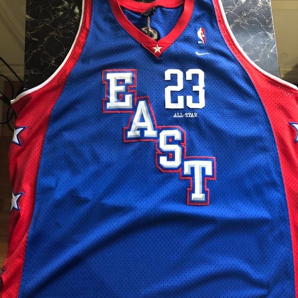 06b8aa87b9b LeBron James Throwback East All-Star Jersey. M 5b9b58294cdc30cca4d5f390